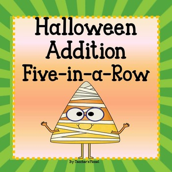 FREE Halloween Addition 5-in-a-Row!