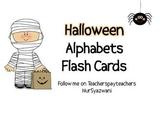 FREE Halloween Alphabets Flash Cards