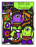 FREE Halloween BOO-yah Freebie {Creative Clips Digital Clipart}