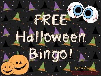 FREE Halloween Bingo!
