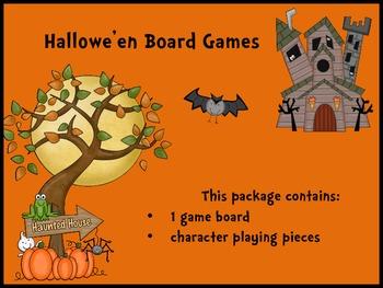 FREE Hallowe'en Board Game