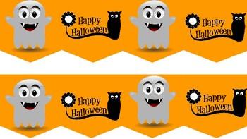 FREE Halloween Bulletin Boarder - borders
