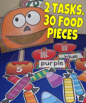 FREE Halloween Centers Autumn Activities Fall Centers Math Literacy Food