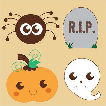FREE Halloween Clip Art - 8 FREE PNG Files for Personal and Commercial Use