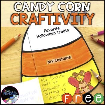 FREE Halloween Craft: Interactive Candy Corn Craftivity