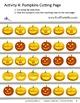 Halloween Scissors Skills Activities