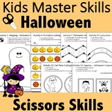 Halloween Scissors Skills Activities