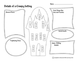 FREE Halloween Details of a Creepy Setting Map