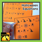 FREE Halloween Equations