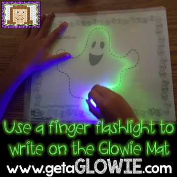 FREE Halloween Fun Printables for Glowie Mats