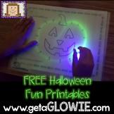 FREE Halloween Fun Printables for Glowie Mats