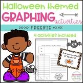 Halloween Graphing Activities FREEBIE