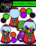 FREE Halloween Gumball Machines {Creative Clips Digital Clipart}