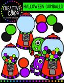 FREE Halloween Gumball Machines {Creative Clips Digital Clipart}