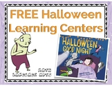 FREE Halloween Learning Centers