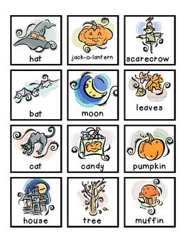 FREE Halloween Literacy Center – Noun & Verb Sort