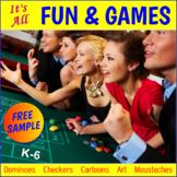 "FREE - Halloween Math ""Bingo"" (K-6)"