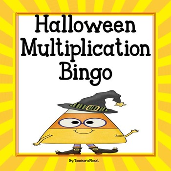 Free Halloween Multiplication Bingo By Teachers Planet Tpt
