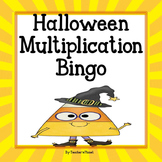 FREE Halloween Multiplication Bingo!
