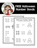 FREE Halloween Number Bonds