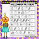 Halloween Patterns Worksheet