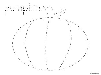 FREE Halloween Pumpkin Trace