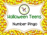 FREE! Halloween Teens! Number Bingo