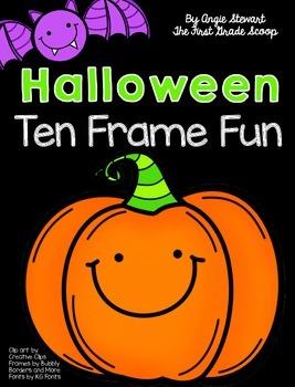 FREE Halloween Ten Frame Fun