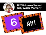 FREE Halloween Themed Tally Mark Memory Game