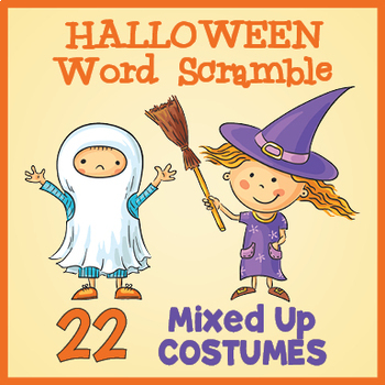 FREE Halloween Word Scramble