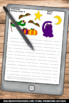 FREE Halloween Creative Writing Papers for Literacy Center