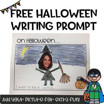 FREE Halloween Writing Prompt