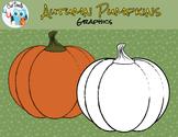 FREE Halloween or Autumn Pumpkin Graphics