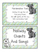 *FREE*  Hallway Chants and Songs Book