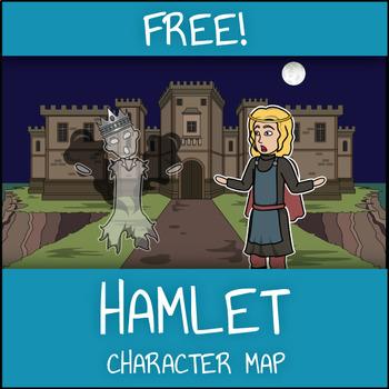 FREE Hamlet Character Map