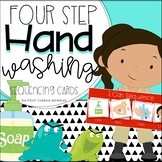 FREE: Hand washing | hygiene Four / 4 step sequencing pict