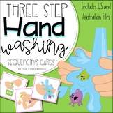 FREE: Hand washing | hygiene Three / 3 step sequencing pic