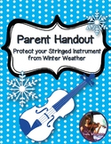 FREE Handout: Protect your Stringed Instrument from Winter