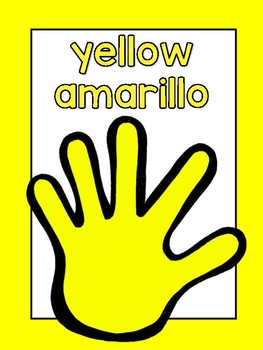 FREE Handprint Color Posters