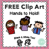 FREE Hands to Hold Clip Art