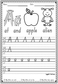 Handwriting Booklets in NSW Foundation Font