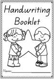 Handwriting Booklets in Queensland Beginners Font