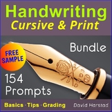 "FREE - Handwriting Practice ""Death Valley Sailing Rocks"" (Grades 3-7)"