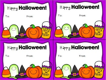 {FREE} Happy Halloween Gift Tags