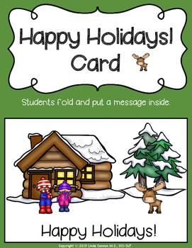 FREE Happy Holidays Card