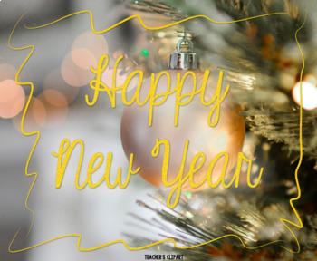 FREE Happy New Year / Feliz 2017image to share on Social Media