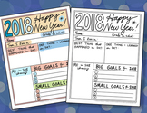 Doodle Notes - FREE Happy New Years Printable Activity FREE