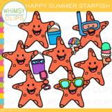 FREE Happy Summer Starfish Clip Art