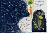 FREE Hare poster great illustration hand drawn, for nature