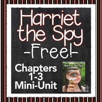 Harriet the Spy {FREE} Chapter Unit